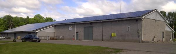 Buckhorn Community Centre 73.3kW, Trent Lakes, ON